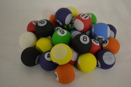 27mm Pool Ball Mix