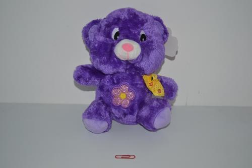Lumo Bear Purple 24cm
