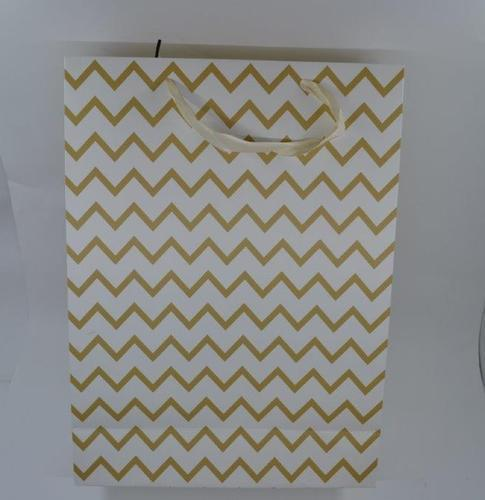 Gift Bag Metallic Pattern (L) 39,5x30x12
