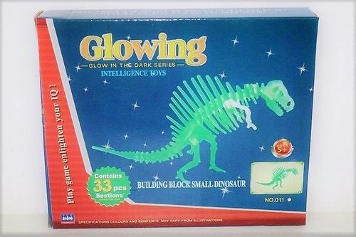 Glowing T-Rex Boxed