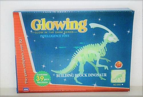 Glowing Dinosaur Boxed